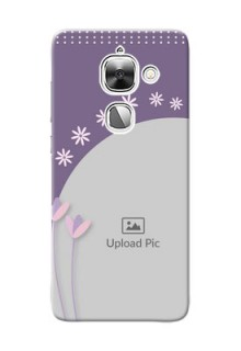 LeEco Le Max 2 lavender background with flower sprinkles Design Design