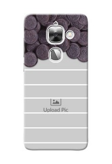 LeEco Le Max 2 oreo biscuit pattern with white stripes Design Design