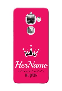Leeco Le Max 2 Queen Phone Case with Name