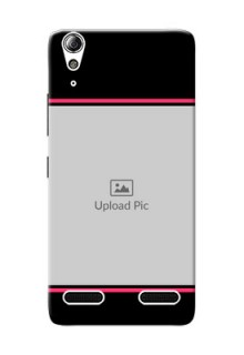 Lenovo A6000 Plus Photo With Text Mobile Case Design