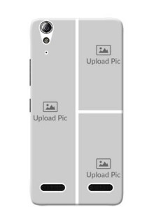Lenovo A6000 Plus Multiple Picture Upload Mobile Cover Design