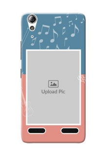 Lenovo A6000 Plus 2 colour backdrop with music theme Design
