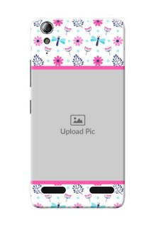 Lenovo A6000 Colourful Flowers Mobile Cover Design