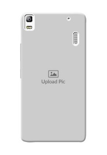 Lenovo A7000 Plus Full Picture Upload Mobile Back Cover Design