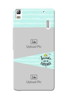Lenovo A7000 Plus 2 image holder with friends icon Design