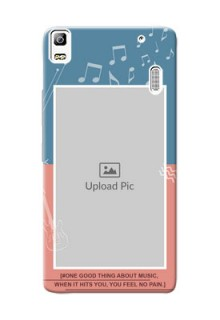 Lenovo A7000 Plus 2 colour backdrop with music theme Design Design