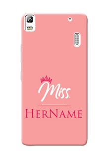 Lenovo A7000 Plus Custom Phone Case Mrs with Name
