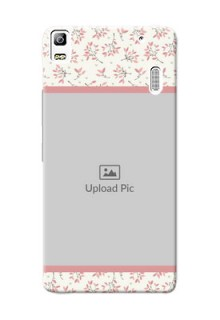Lenovo A7000 Turbo Floral Design Mobile Back Cover Design
