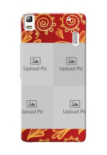 Lenovo A7000 Turbo 4 image holder with mandala traditional background Design