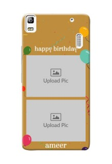 Lenovo A7000 Turbo 2 image holder with birthday celebrations Design