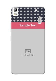 Lenovo A7000 Love Symbols Mobile Cover Design