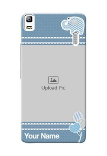Lenovo A7000 kids design icons with  simple pattern Design Design