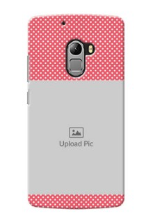 Lenovo A7010 White Dots Mobile Case  Design