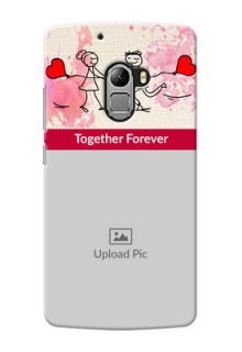 Lenovo A7010 Just You And Me Mobile Back Case Design