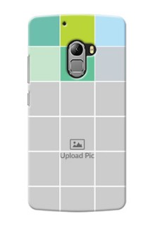 Lenovo A7010 white boxes pattern Design Design