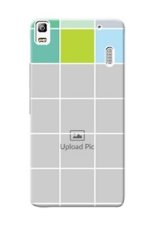 Lenovo K3 Note white boxes pattern Design Design