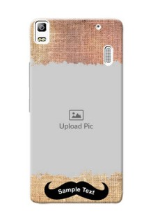Lenovo K3 Note modern cloth texture Design Design