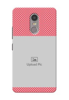 Lenovo K6 Note White Dots Mobile Case  Design