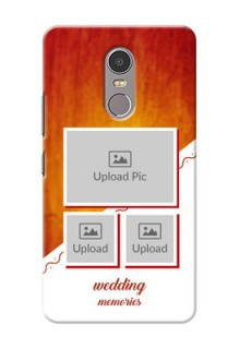 Lenovo K6 Note Wedding Memories Mobile Cover Design