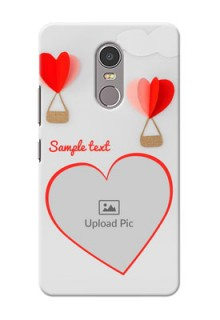 Lenovo K6 Note Love Abstract Mobile Case Design