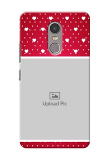 Lenovo K6 Note Beautiful Hearts Mobile Case Design