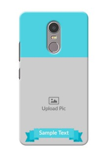 Lenovo K6 Note Simple Mobile Back Cover Design