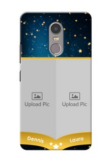 Lenovo K6 Note 2 image holder with galaxy backdrop and stars  Design