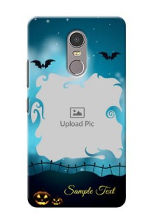 Lenovo K6 Note halloween design with designer frame Design