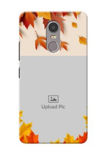Lenovo K6 Note autumn maple leaves backdrop Design