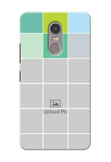 Lenovo K6 Note white boxes pattern Design Design