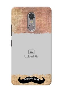 Lenovo K6 Note modern cloth texture Design Design