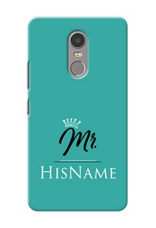 Lenovo K6 Note Custom Phone Case Mr with Name