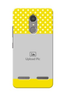 Lenovo Vibe K6 Power Bright Yellow Mobile Case Design