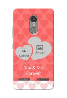 Lenovo Vibe K6 Power Couples Picture Upload Mobile Cover Design