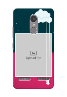 Lenovo Vibe K6 Power Cute Girl Abstract Mobile Case Design