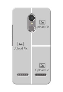 Lenovo Vibe K6 Power Multiple Picture Upload Mobile Cover Design