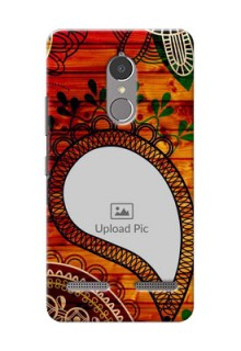 Lenovo Vibe K6 Power Colourful Abstract Mobile Cover Design
