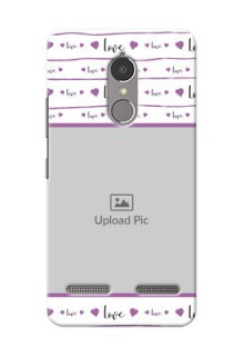 Lenovo Vibe K6 Power Couples Mobile Case Design
