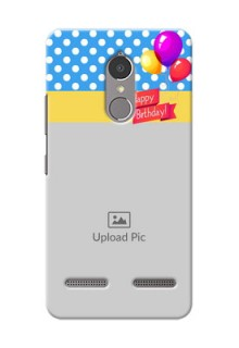 Lenovo Vibe K6 Power Happy Birthday Mobile Back Cover Design