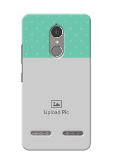 Lenovo Vibe K6 Power Lovers Picture Upload Mobile Cover Design