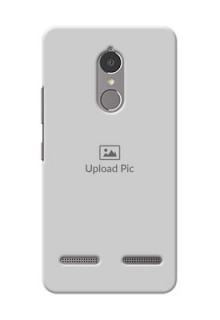 Lenovo Vibe K6 Power Full Picture Upload Mobile Back Cover Design