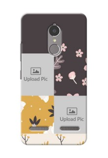 Lenovo Vibe K6 Power 3 image holder with florals Design
