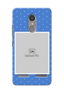 Lenovo Vibe K6 Power 2 image holder polka dots Design