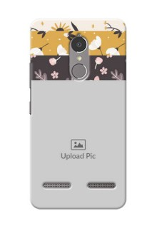 Lenovo Vibe K6 Power stylish floral side Design