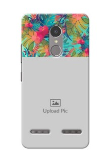 Lenovo Vibe K6 Power colourful watercolour floral Design
