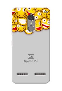Lenovo Vibe K6 Power smileys pattern Design Design