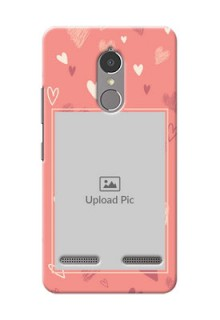 Lenovo Vibe K6 Power love doodle art Design Design