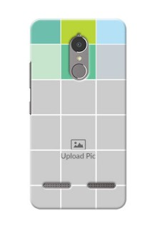 Lenovo Vibe K6 Power white boxes pattern Design Design