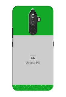 Lenovo K8 Note Green And Yellow Pattern Mobile Cover Design