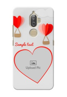Lenovo K8 Plus Love Abstract Mobile Case Design